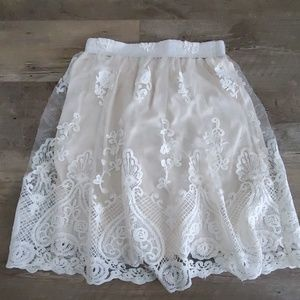 Altard State lace skirt size L
